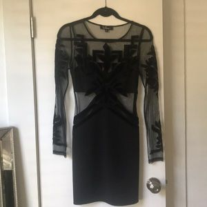 Lulus size small black dress, worn once.